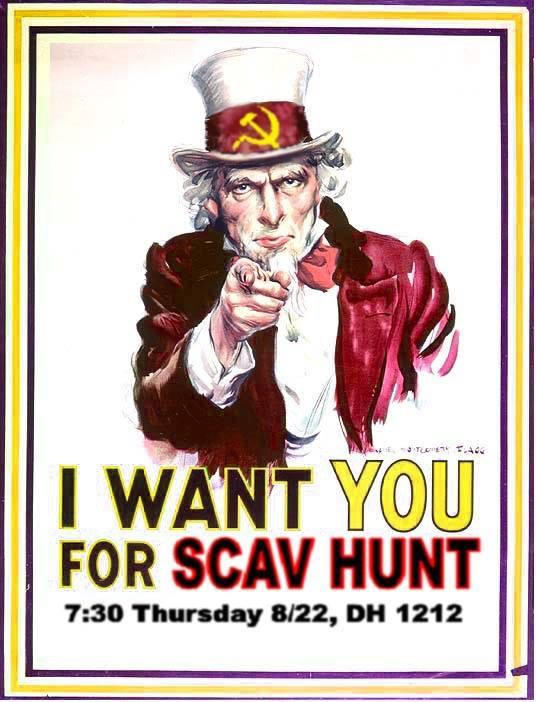 Scav Hunt Poster 2013 [1]