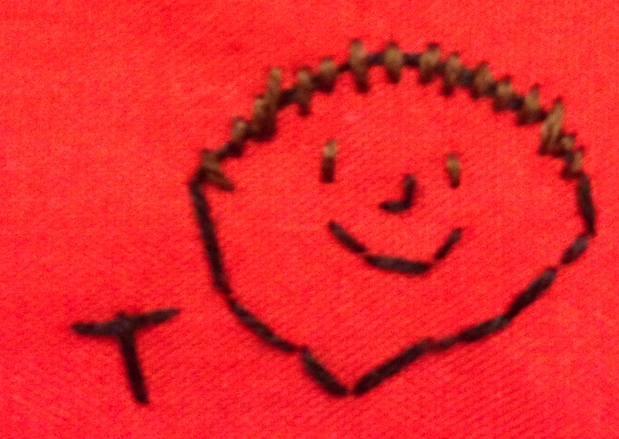 Embroidered Joe