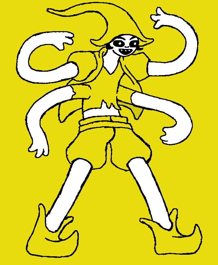 yellow ponce
